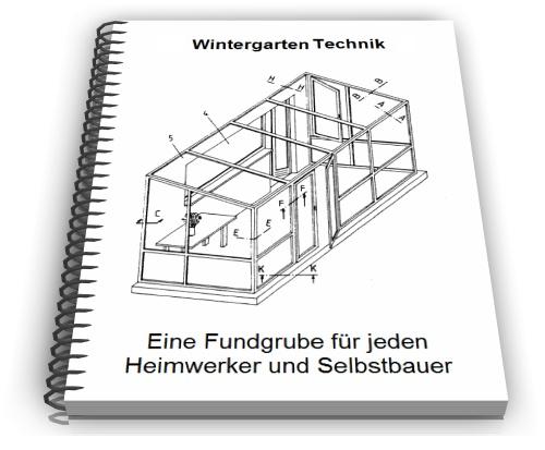Wintergarten selber bauen: Cover einer Bau-Anleitung